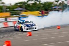 Αυτοκίνητο κλίσης στην ενέργεια Στοκ Εικόνες