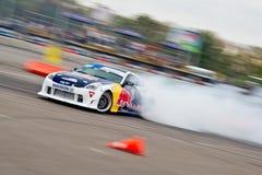 Αυτοκίνητο κλίσης στην ενέργεια Στοκ φωτογραφίες με δικαίωμα ελεύθερης χρήσης