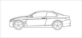 Αυτοκίνητο κυκλωμάτων Στοκ Εικόνες