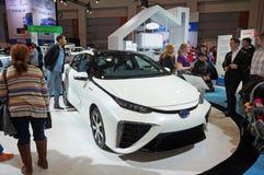 2015 αυτοκίνητο κυττάρων καυσίμου της Toyota Mirai Στοκ φωτογραφίες με δικαίωμα ελεύθερης χρήσης