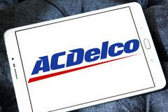 Αυτοκίνητο λογότυπο εμπορικών σημάτων μερών ACDelco Στοκ Φωτογραφίες