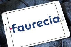 Αυτοκίνητο λογότυπο κατασκευαστών μερών Faurecia Στοκ εικόνα με δικαίωμα ελεύθερης χρήσης