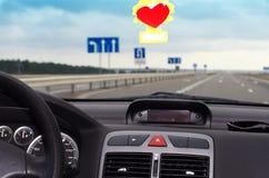 αυτοκίνητο μέσα Στοκ φωτογραφίες με δικαίωμα ελεύθερης χρήσης