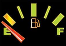 Αυτοκίνητο μετρητών αερίου ελεύθερη απεικόνιση δικαιώματος
