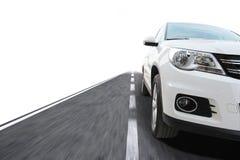 Αυτοκίνητο με την ταχύτητα Στοκ φωτογραφία με δικαίωμα ελεύθερης χρήσης