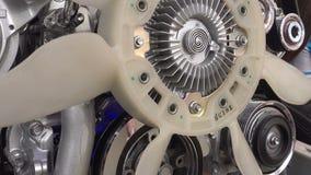 Αυτοκίνητο μηχανών απόθεμα βίντεο