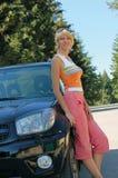 αυτοκίνητο νέο Στοκ Εικόνες