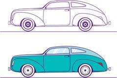 Αυτοκίνητο ντεμοντέ διανυσματική απεικόνιση