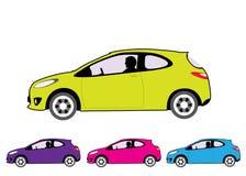 Αυτοκίνητο οικονομίας διανυσματική απεικόνιση