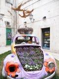 Αυτοκίνητο λουλουδιών Στοκ Εικόνες