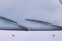 αυτοκίνητο παγωμένο Στοκ εικόνα με δικαίωμα ελεύθερης χρήσης