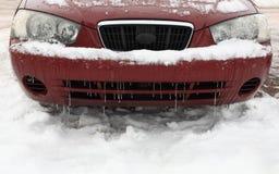 αυτοκίνητο παγωμένο Στοκ φωτογραφίες με δικαίωμα ελεύθερης χρήσης