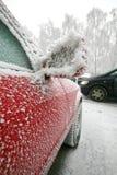 αυτοκίνητο παγωμένο Στοκ Φωτογραφίες