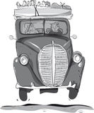 αυτοκίνητο παλαιό ελεύθερη απεικόνιση δικαιώματος