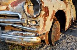 Αυτοκίνητο παλιοπραγμάτων Pobeda Gaz M20 Στοκ Φωτογραφίες
