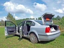 αυτοκίνητο που ανοίγο&upsilon Στοκ Εικόνες