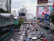 Αυτοκίνητο που κολλιέται στην Ταϊλάνδη Στοκ Φωτογραφία