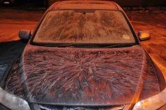 αυτοκίνητο που παγώνουν Στοκ φωτογραφία με δικαίωμα ελεύθερης χρήσης
