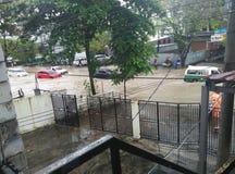 Αυτοκίνητο που πλημμυρίζουν στοκ φωτογραφίες με δικαίωμα ελεύθερης χρήσης
