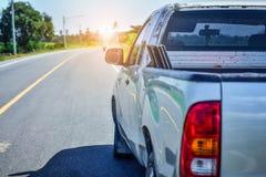 Αυτοκίνητο που σταθμεύουν στην οδό, αυτοκίνητο που σταθμεύουν στο δρόμο Στοκ Εικόνες