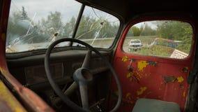Αυτοκίνητο που συντρίβεται παλαιό Στοκ εικόνες με δικαίωμα ελεύθερης χρήσης