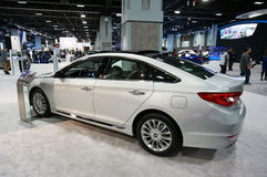 2015 αυτοκίνητο πολυτέλειας της Hyundai Sonata Στοκ Εικόνες