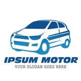 Αυτοκίνητο πρότυπο λογότυπων αυτοκινήτων Ελεύθερη απεικόνιση δικαιώματος