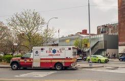 Αυτοκίνητο πυροσβεστικής υπηρεσίας της Νέας Υόρκης Στοκ Φωτογραφίες
