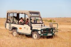 Αυτοκίνητο σαφάρι, Αφρική Στοκ Φωτογραφίες