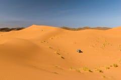 Αυτοκίνητο σαφάρι στην έρημο, Ouzina, Μαρόκο Στοκ φωτογραφία με δικαίωμα ελεύθερης χρήσης