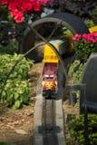 Αυτοκίνητο σιδηροδρόμου κήπων Στοκ φωτογραφίες με δικαίωμα ελεύθερης χρήσης
