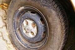 αυτοκίνητο σκουριασμέν&o Στοκ εικόνες με δικαίωμα ελεύθερης χρήσης