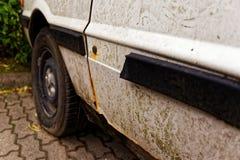 αυτοκίνητο σκουριασμέν&o Στοκ Εικόνες
