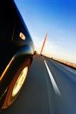 Αυτοκίνητο στο δρόμο Στοκ φωτογραφία με δικαίωμα ελεύθερης χρήσης