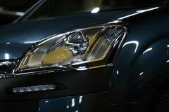Αυτοκίνητο στο σκοτάδι Στοκ Εικόνες