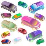 Αυτοκίνητο στο χρώμα Στοκ εικόνες με δικαίωμα ελεύθερης χρήσης