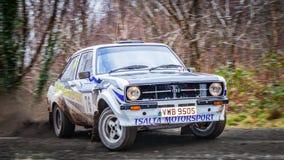 Αυτοκίνητο συνάθροισης Ford Escort MKII στοκ φωτογραφίες