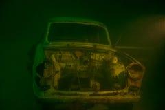 Αυτοκίνητο συντριμμιών Στοκ Εικόνες