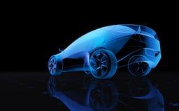 Αυτοκίνητο σχεδίου έννοιας διανυσματική απεικόνιση