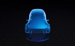 Αυτοκίνητο σχεδίου έννοιας Στοκ Φωτογραφίες