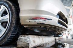 Αυτοκίνητο σύγκρουσης Στοκ εικόνες με δικαίωμα ελεύθερης χρήσης