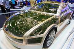 αυτοκίνητο σύγχρονο Στοκ Εικόνες