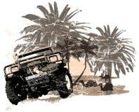 αυτοκίνητο τετράτροχο Στοκ Φωτογραφίες