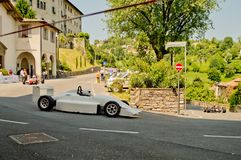 Αυτοκίνητο της Ιταλίας τύπου στα ιστορικά Grand Prix 2017 του Μπέργκαμο Στοκ εικόνα με δικαίωμα ελεύθερης χρήσης