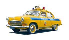 Αυτοκίνητο της κρατικής αυτοκινητικής επιθεώρησης Στοκ Φωτογραφία