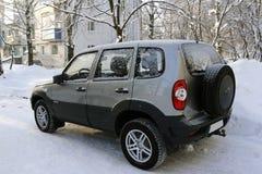 Αυτοκίνητο της Νίκαιας έναν κρύο χειμώνα Στοκ εικόνα με δικαίωμα ελεύθερης χρήσης
