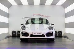 Αυτοκίνητο της Porsche για την πώληση Στοκ εικόνα με δικαίωμα ελεύθερης χρήσης