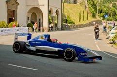 Αυτοκίνητο της Renault τύπου στα ιστορικά Grand Prix 2017 του Μπέργκαμο Στοκ εικόνα με δικαίωμα ελεύθερης χρήσης