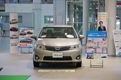 αυτοκίνητο της Toyota axio corolla του 2017 Ιαπωνία Στοκ φωτογραφία με δικαίωμα ελεύθερης χρήσης