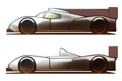 Αυτοκίνητο του Le Mans σώματος αυτοκινήτων Ελεύθερη απεικόνιση δικαιώματος